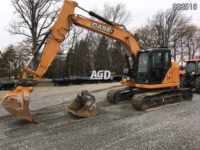 Image for Used 2016 Case CX145 Excavator